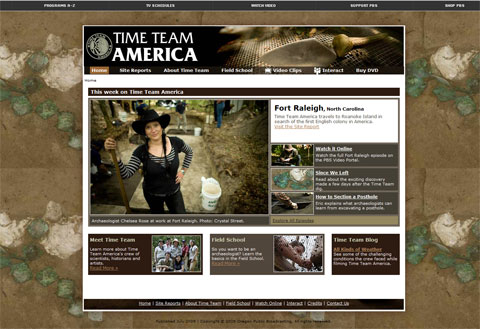 Time-Team-Website-Launches